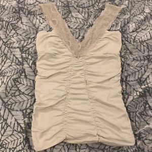 Free People Ruched Top